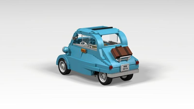 This Lego BMW Isetta Could Be the Cutest Set Ever - image 911625