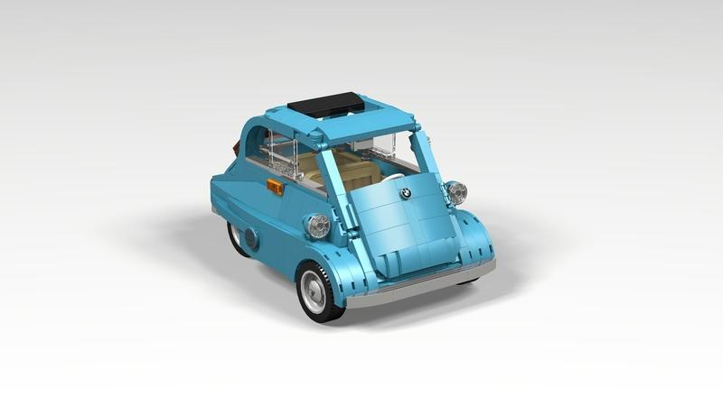 This Lego BMW Isetta Could Be the Cutest Set Ever - image 911629