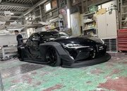 Liberty Walk Has Created the Craziest Wide Body Kit for the 2020 A90 Toyota Supra - image 911777