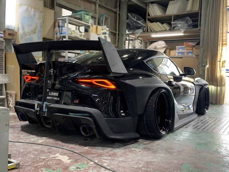 Liberty Walk Has Created the Craziest Wide Body Kit for the 2020 A90 Toyota Supra