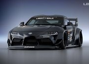 Liberty Walk Has Created the Craziest Wide Body Kit for the 2020 A90 Toyota Supra - image 911773