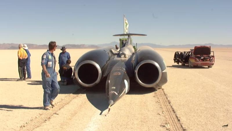 Look Back a Few Years to When the Thrust SSC Broke The Speed of Sound