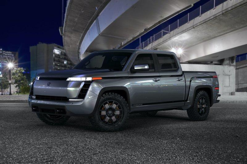 Lordstown Unveils The Endurance Electric Pickup Truck