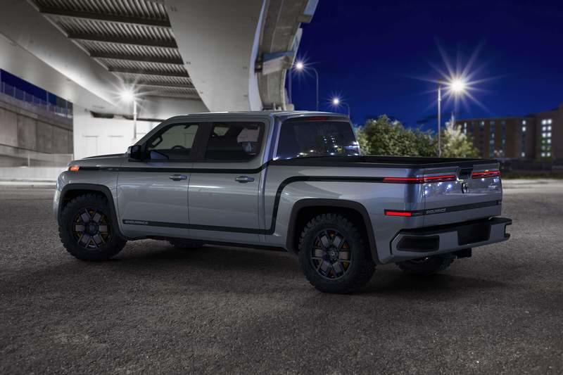 Lordstown Unveils The Endurance Electric Pickup Truck Exterior - image 915571