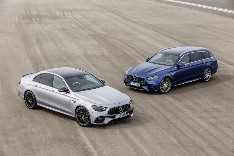 Mercedes Fired Back at the 2021 BMW M5 With the New AMG E63 S 4MATIC+ Exterior - image 912961