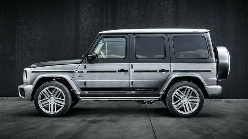2020 Mercedes-AMG G63 Yachting Edition by Carlex Design Exterior - image 915336