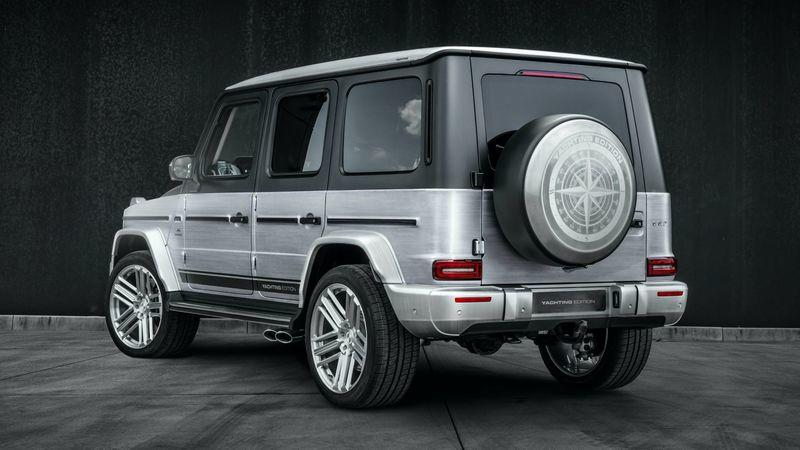 2020 Mercedes-AMG G63 Yachting Edition by Carlex Design Exterior - image 915337