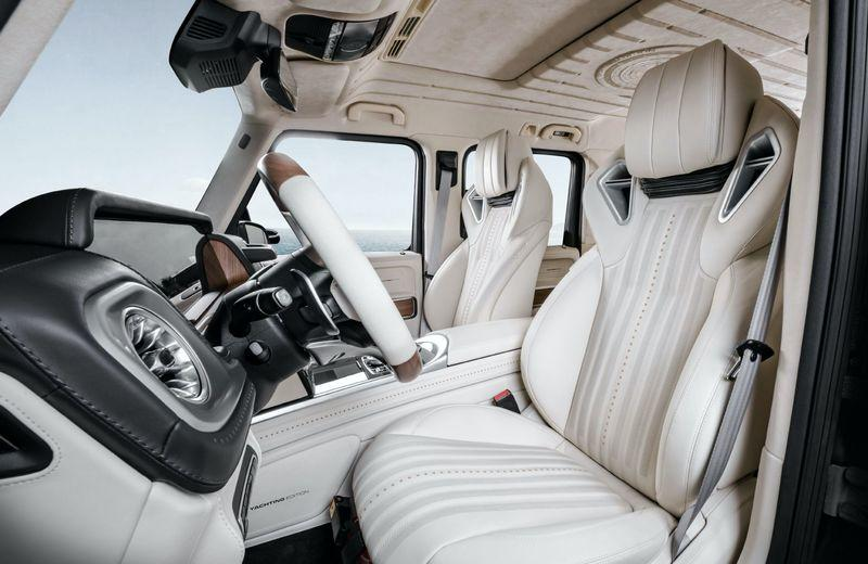 2020 Mercedes-AMG G63 Yachting Edition by Carlex Design Interior - image 915342
