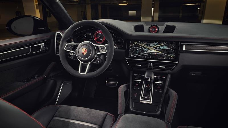 Porsche Just Gave the Cayenne GTS and GTS Coupe Turbo V-8 Power Interior - image 912133