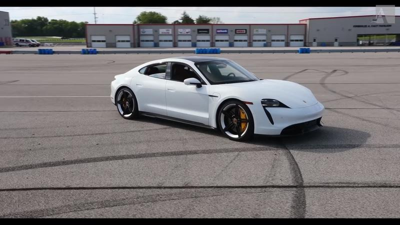 Pro Racer Reviews the 750-Horsepower Porsche Taycan Turbo S...Like a Pro