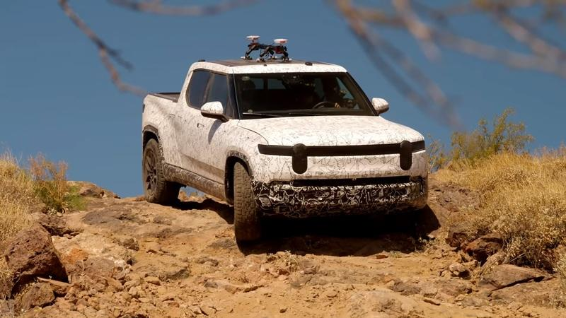 Rivian Shows Off The R1T Pickup Truck's Insane Off-Roading Prowess In A Series Of Short Clips