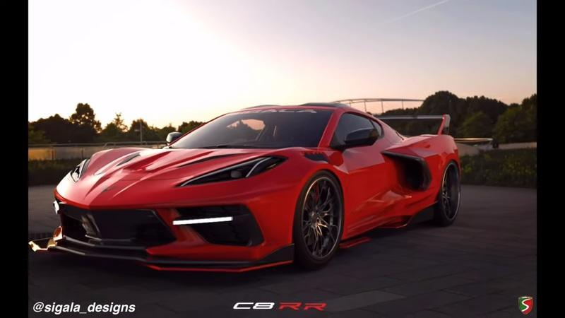 Sigala Designs Is Currently Designing a Widebody Kit for the 2020 Chevy C8 Corvette