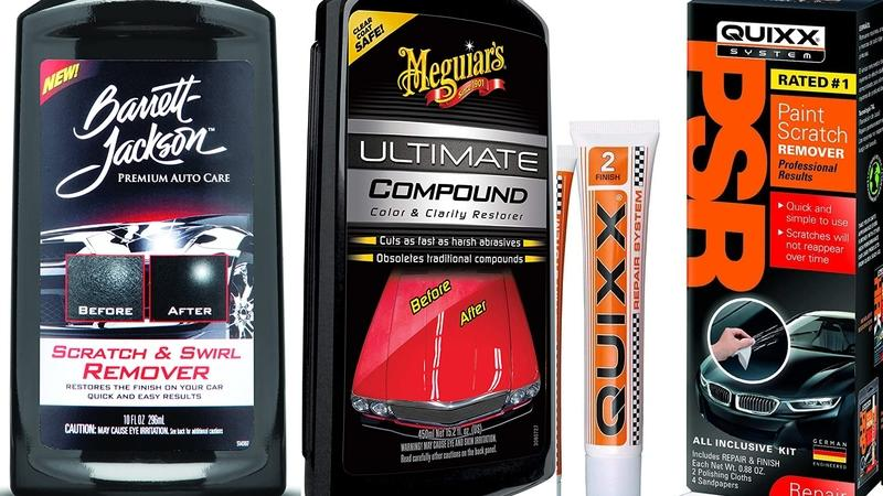 The Best Car Scratch Removers Reviewed