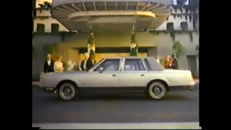 This 1986 Lincoln Commercial Will Remind You of Just How Long GM Has Been Badge-Engineering Cars