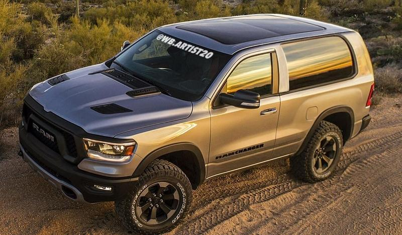 This Rendering Is, Without a Doubt, What The New Ramcharger Should Look Like