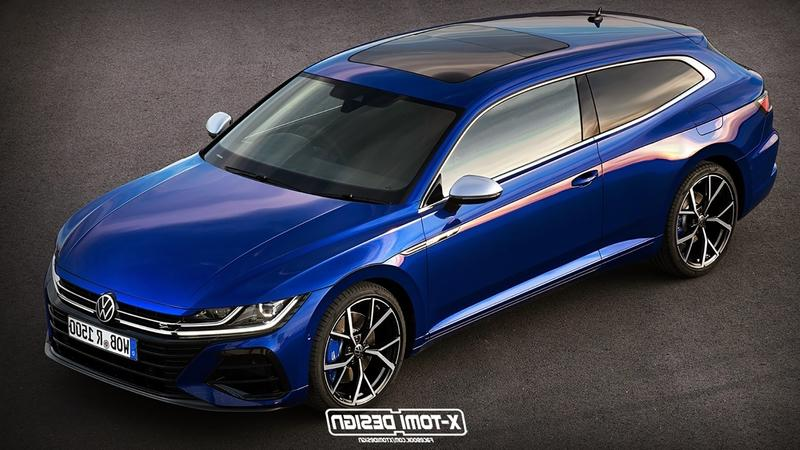This Volkswagen Arteon Shooting Brake Is The Definition of Gorgeous Exterior Computer Renderings and Photoshop - image 915929