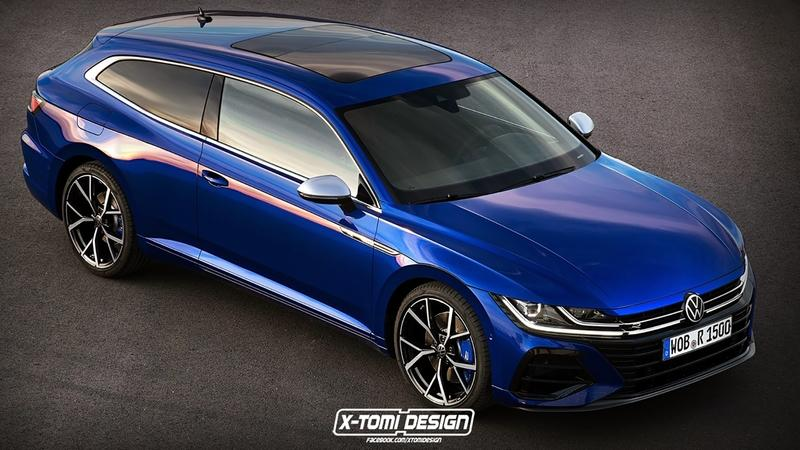 This Volkswagen Arteon Shooting Brake Is The Definition of Gorgeous Exterior Computer Renderings and Photoshop - image 915928