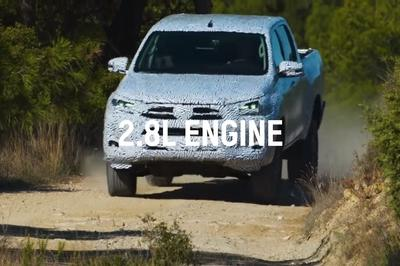 Toyota Teases The 2021 Hilux In An Official Video
