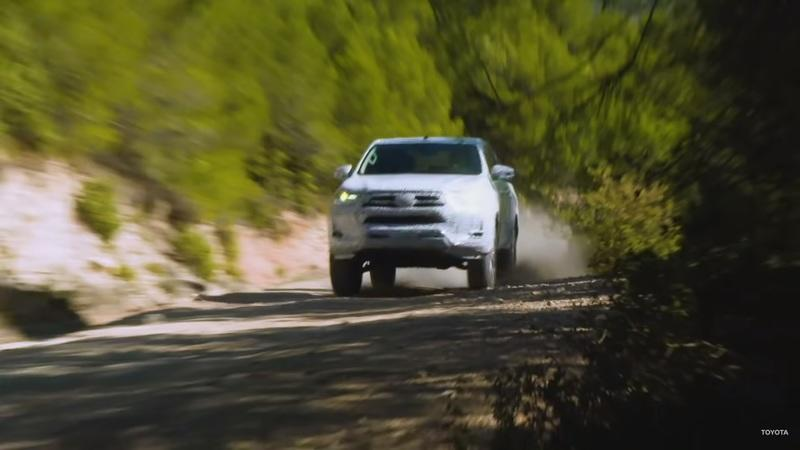 Toyota Teases The 2021 Hilux In An Official Video - image 909727