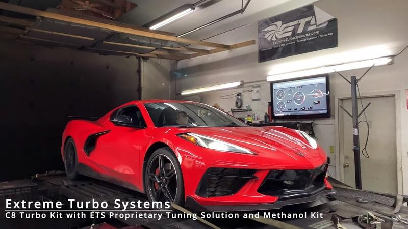 Chevrolet C8 Corvette by Extreme Turbo Systems