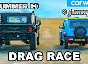 Watch a Suzuki Jimny Take On The Mighty Hummer H1 In a Drag Race - image 913326
