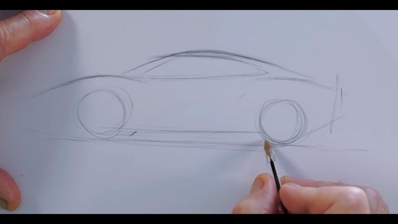 Watch Frank Stephenson Explain How He Designed the Ferrari F430!