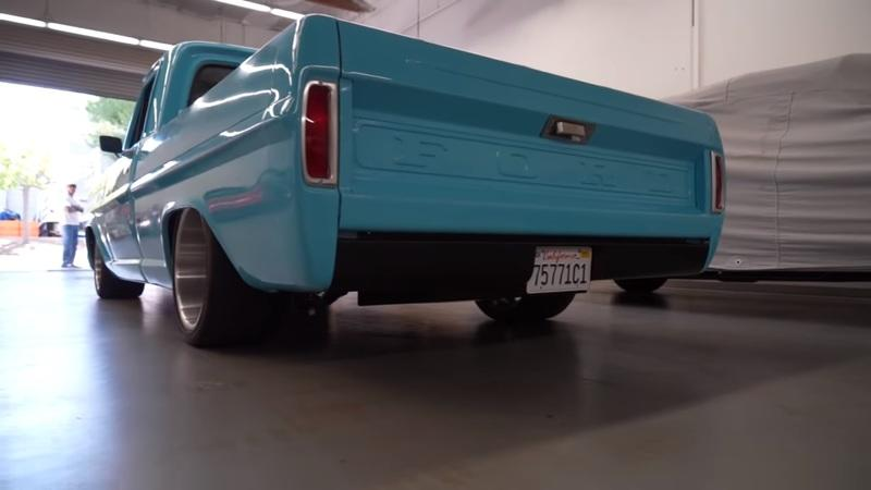 Watch This Restored 1969 Ford F-100 Burn Rubber In One Of The Longest Burnouts We've Seen From A Truck - image 911652