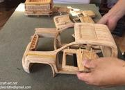 Watch This Video of a Wood-Carved 2021 Chevy Silverado 2500 HD to Get Rid of Your Mid-Week Blues - image 915261