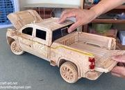 Watch This Video of a Wood-Carved 2021 Chevy Silverado 2500 HD to Get Rid of Your Mid-Week Blues - image 915266