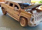 Watch This Video of a Wood-Carved 2021 Chevy Silverado 2500 HD to Get Rid of Your Mid-Week Blues - image 915295