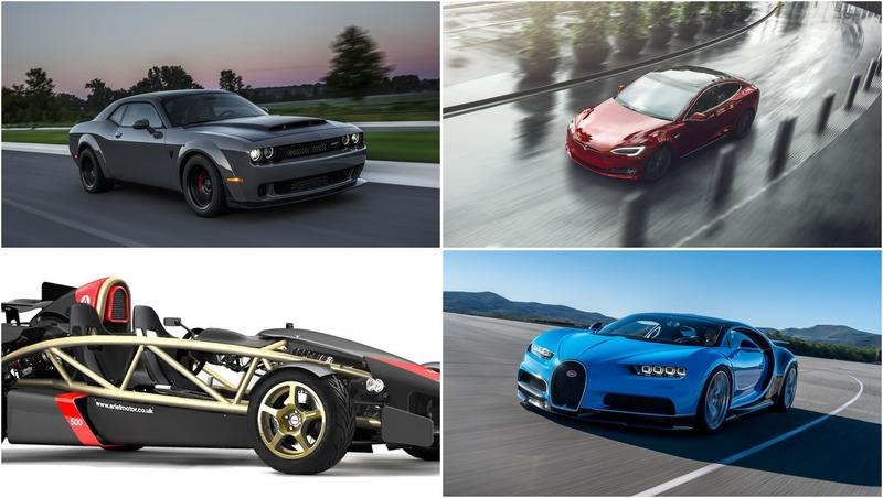 10 Fastest Cars To 60 MPH Ranked Fastest to Slowest