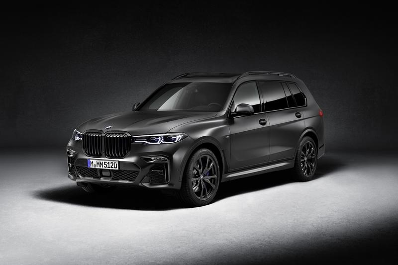 2021 BMW X7 Dark Shadow Edition