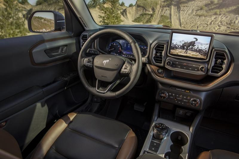 The 2021 Ford Bronco Sport is the Bronco's Not-So-Rugged Little Brother Interior - image 920039