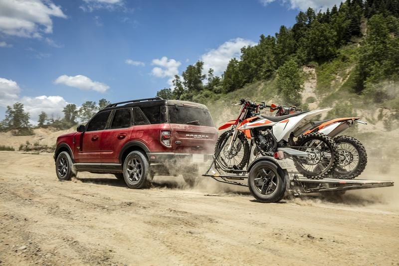 The 2021 Ford Bronco Sport is the Bronco's Not-So-Rugged Little Brother Exterior - image 920053