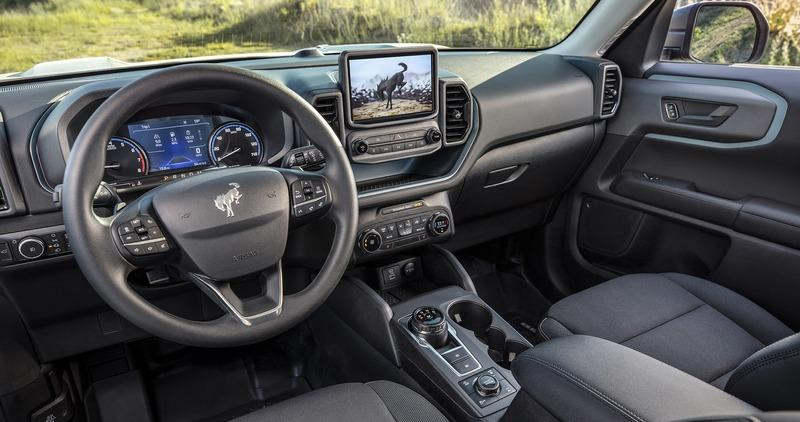 The 2021 Ford Bronco Sport is the Bronco's Not-So-Rugged Little Brother Interior - image 920030