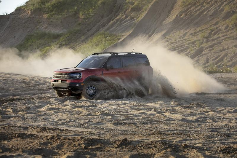 The 2021 Ford Bronco Sport is the Bronco's Not-So-Rugged Little Brother Exterior - image 920062