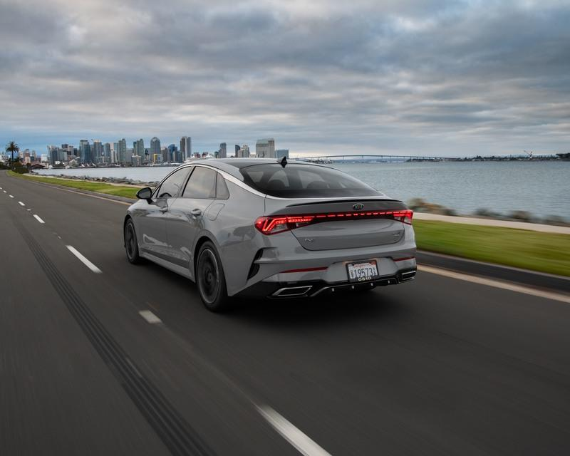 The Numbers Are In and the 2021 Kia K5 Really Does Outperform the BMW 3 Series Exterior - image 916448