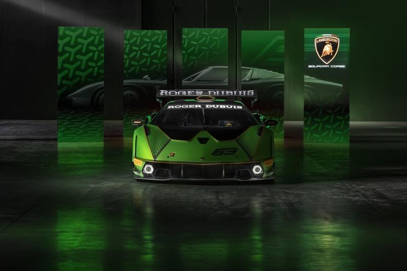 What Could This Mysterious Roofless Lamborghini Be?