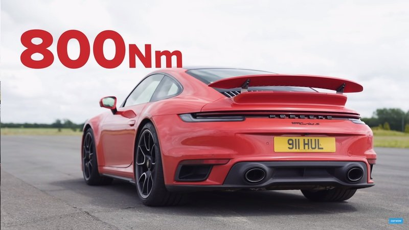 A Porsche 911 Turbo S and a McLaren 720S Roll Onto the Drag Strip - Can You Guess Who Wins?