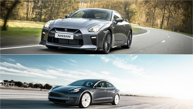 A Tesla Model 3 Performance Just Waxed a 1200-Horsepower Nissan GT-R, But Was It Fair?