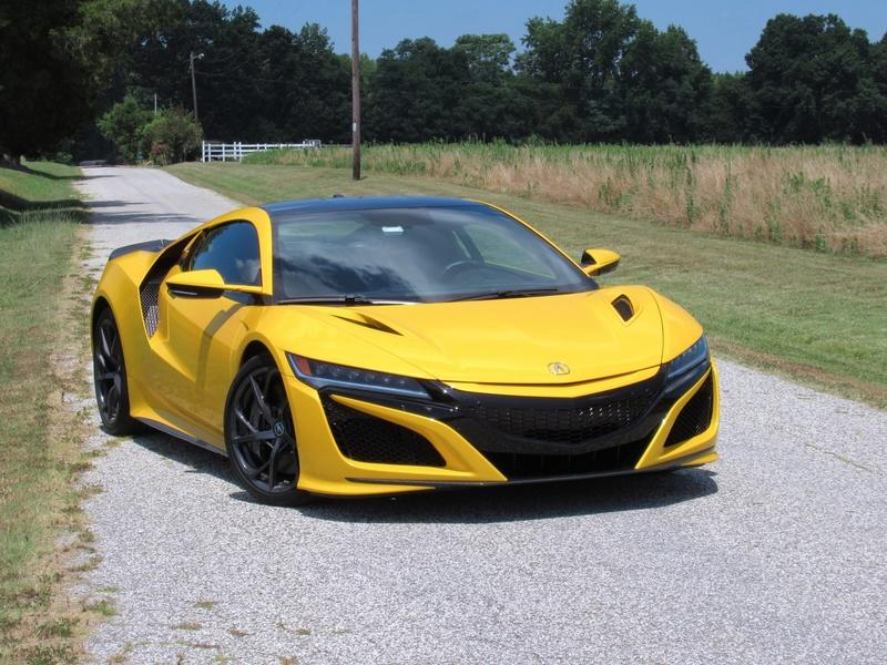 2020 Acura NSX - Driven Exterior - image 925428