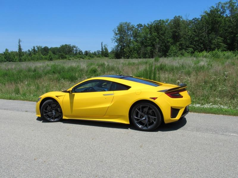 2020 Acura NSX - Driven Exterior - image 925431