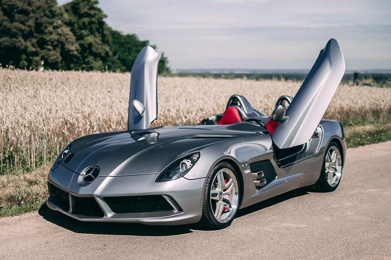 Amazing Car for Sale: 2009 Mercedes-Benz SLR McLaren Stirling Moss