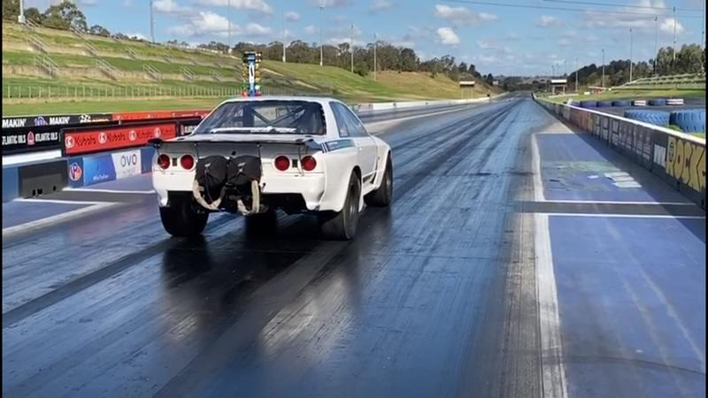 An R32 Nissan Skyline Just Became the Worlds Fastest AWD Vehicle With a Sub-7-Second Quarter Mile!