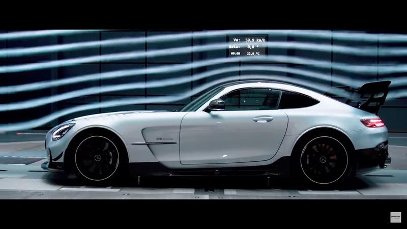 Here's Your First Official Look at the AMG GT Black Series