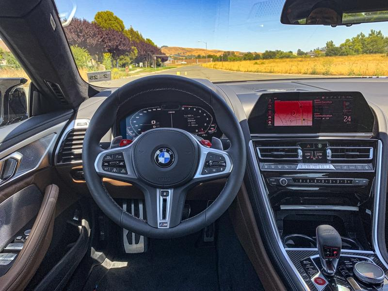 2020 BMW M8 Gran Coupe - Driving Impressions
