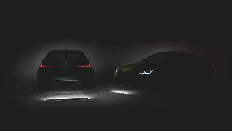 BMW Resorts to Tesla-Style Trolling With Latest BMW M3 and M4 Teaser Image