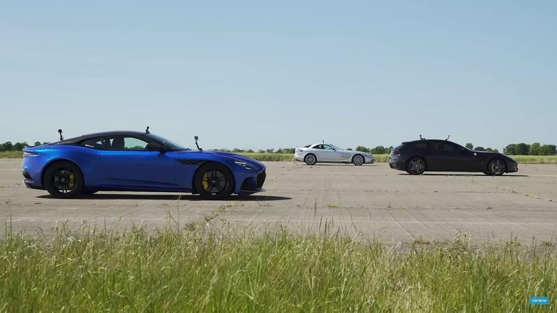 Can the Mercedes SLR McLaren Beat a Couple of Modern Supercars in a Drag Race?