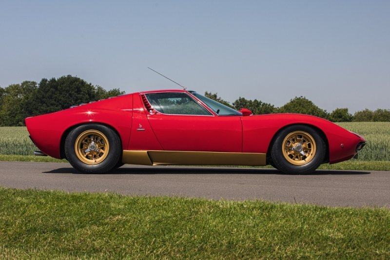 Car for Sale: Amazingly Rare, RHD, 1972 Lamborghini Miura SV