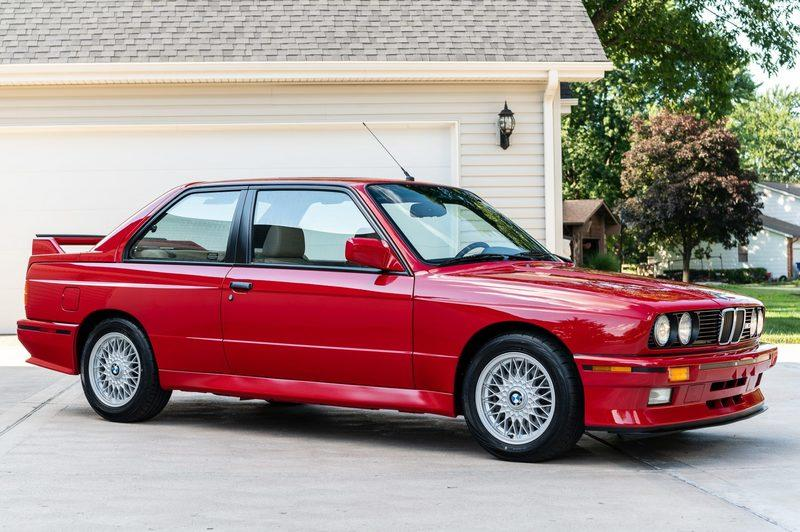 That Super Clean, 8K-Mile 1988 BMW M3 Just Sold for a Ridiculous Amount of Money